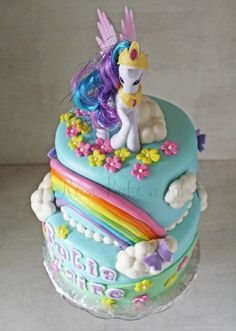 my little pony custom cake - Google Search