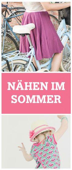 Nähanleitungen und E-Books für den Sommer: Sommermode, Strandtasche und mehr / sewing patterns for summer: summerly dress, beach bag, etc. via DaWanda.com