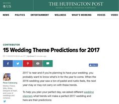 Thank you Rose Cabacang @weddingfavy for allowing @ccblct to be a part of today's @huffingtonpost article 15 Wedding Theme Predictions for 2017! Check it out! http://ift.tt/2erJxD8 #ccblct #ccbl #ctweddingdesigner #ctweddingplanner #ctweddingplanner #weddinginspo #weddingdesigner #weddingplanner #weddinginsporation #weddingtheme #gettingitdone #hustle #teamccblct #wegotthis