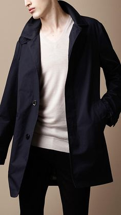 Burberry - LIGHTWEIGHT COTTON TRENCH COAT