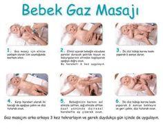 bebek gaz masajı nasıl yapılır