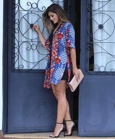 """99 curtidas, 2 comentários - melove (@melovemodas) no Instagram: """"Mais uma do nosso kimono sucesso !!! @arianecanovas linda ! #tendencia #musthave #fashion #look…"""""""