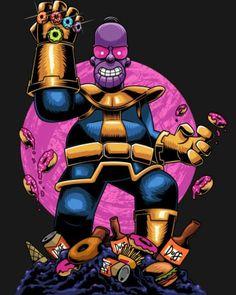 Thanos Homer, The Simpsons Simpson Wallpaper Iphone, Cartoon Wallpaper, Homer Simpson, Image Swag, Thanos Avengers, Dope Cartoons, Simpsons Art, Dope Art, Futurama