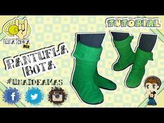 Bota Pantufla || DIY || Una Idea Más - YouTube