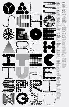 Typography // Jessica Svendsen - Michael Bierut Yale School of Architecture Spring 2015