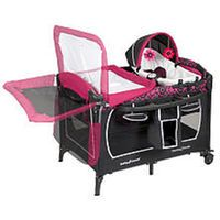 Baby Trend Deluxe Nursery Center Cerise