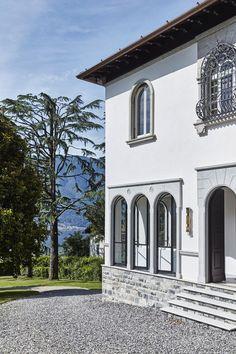 Malene Birger's Italian villa (Desire To Inspire) Italian Lakes, Italian Summer, Italian Villa, Malene Birger, Stone Houses, Lake Como, Stone Flooring, Eclectic Style, My Dream Home
