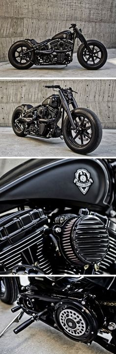 :: Harley Davidson :: Heart Dark #HD #HarleyDavidson #Custom perfect combo of classy and modern. With SHIT handling