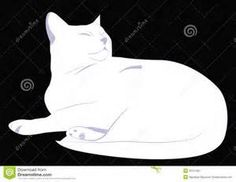 White Cat Silhouette - Bing Images