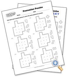 Same Board Puzzles - WorksheetWorks.com