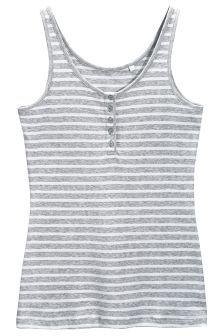Stripe Rib Vest (764124G7X) | £8