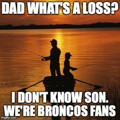 I'm not a Broncos fan but someone special I know is, so I'll pin this for him. He is actually a Peyton fan.