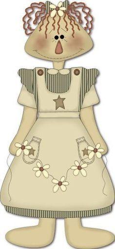 Primitive Doll Patterns, Primitive Stitchery, Primitive Folk Art, Primitive Christmas, Country Primitive, Christmas Art, Christmas Angel Decorations, Mushroom Art, Raggedy Ann And Andy