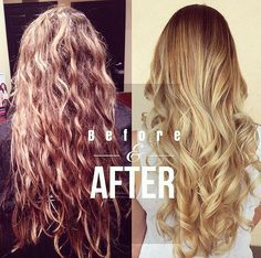 LOVE THIS BEFORE & AFTER - FROM A CLASSIC HIGHLIGHT TO A MODERN ROOTED BALAYAGE LOOK Hair by Hal / Jolie Salon and Day Spa / Hairstylist / Philadelphia | BRIDAL HAIR UPDATED - FROM CLASSIC BRIDE TO TRENDY NEWLYWED