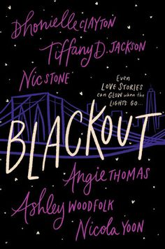 Six critically acclaimed, bestselling, and award-winning authors bring the glowing warmth and electricity of Black teen love to this interlinked novel of charming, hilarious, and heartwarming stories that shine a bright light through the dark. Nicola Yoon Books, Blackout Book, Blackout Movie, Books By Black Authors, Long Time Friends, Great Love Stories, Fantasy Books, New Books, Jackson