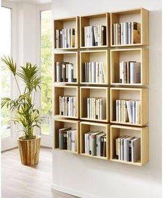 Funky bookshelf