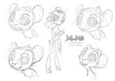 Mune character designs Julien Le Rolland