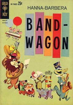 Hanna-Barbera Band-Wagon cover
