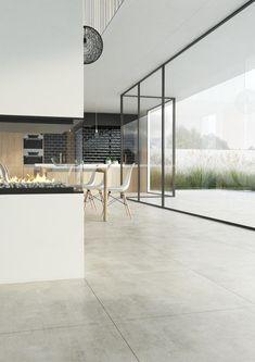bstone | Concrete Grey keramische betontegel. Kies voor de uitstraling van eigentijds beton met keramische tegels die 100% gebruiksgemak garanderen, zowel binnen als buiten. Een meerwaarde voor elk modern en klassiek architecturaal project.