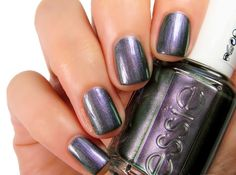 I have this on right now! It's pretty cool. Essie - For the Twill of It | Nailderella