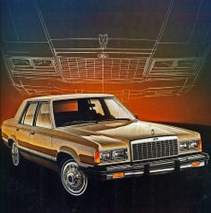 1982 Ford Granada GL 4 Door Sedan