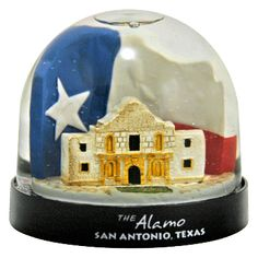 The Alamo, San Antonio Texas Snowdome at snowdomes.com