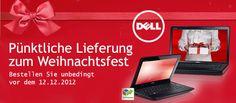Dell Weihnachten 2012 Lieferzeiten