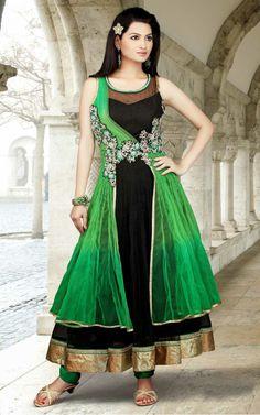 Anarkali Net Partywear Salwar Suit - VDI 25808