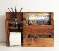 Hey, I found this really awesome Etsy listing at https://www.etsy.com/uk/listing/494044206/rustic-toilet-roll-holder-toilet-paper