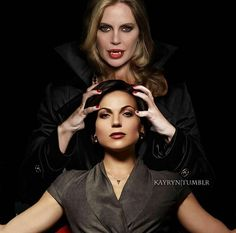 Awesome Regina and Maleficent || #dragonqueen