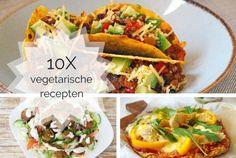 10x vegetarische recepten