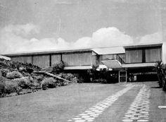 Casa Zapata Buendía 1957-1959  Col. Jardines del Pedregal. México, D.F.  Arq. José María Buendía