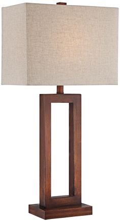 Addie Open Rectangle Table Lamp