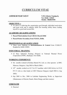 simple curriculum vitae format simple curriculum vitae format will