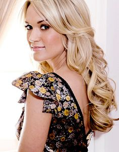 Carrie Engagement Hairstyles, Carrie Underwood, Types Of Hair Color, Gorgeous Blonde, Beautiful Gorgeous, Hairdo Wedding, Country Singers, Country Music, Dream Hair