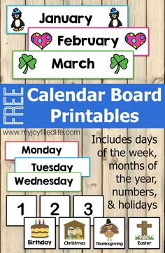 Hottest Absolutely Free preschool classroom calendar Tips Are you currently a new teacher that is wondering exactly how to arrange the toddler class room? Toddler Calendar, Kids Calendar, Free Calendar, Calendar Numbers, Calendar For Preschool, Kindergarten Calendar Board, Teaching Calendar, Daily Calendar, Calendar Printable