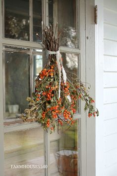 FARMHOUSE 5540: A Farmhouse Autumn Front Porch ~ 2017