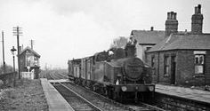 Birkenshaw & Tong Station closed in 1953, West Yorkshire.