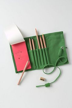Canvas Pencil Roll - Anthropologie.com