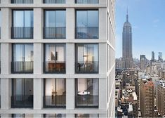 David Chipperfield's first New York residential tower to open in 2017.
