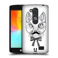 Head Case Designs Gentleman Stampe Di Gatti Back Cover Protettiva Clicca e Metti per LG L Fino D290N Dual D295 di Head Case Designs, http://www.amazon.it/dp/B00Y7L9IJ2/ref=cm_sw_r_pi_dp_x4a8vb1NAYBNZ