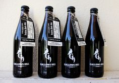 Gallows Hill Brewery by Nick McGee, via Behance