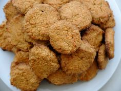 Pohankovo-ovesné keksy - Powered by Cookies, Desserts, Recipes, Food, Crack Crackers, Tailgate Desserts, Deserts, Biscuits, Cookie Recipes