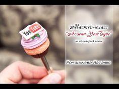 Видео мастер-класс: создаем «вкусную» ложечку с капкейком и логотипом - Ярмарка Мастеров - ручная работа, handmade