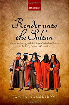 Render unto the Sultan: Power, Authority, and the Greek Orthodox Church in the Early Ottoman Centuries by Tom Papademetriou http://www.amazon.com/dp/019871789X/ref=cm_sw_r_pi_dp_kfLuvb1EMHBRP