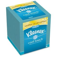 Kimberly-Clark Cool Sensation Facial Tissue, 3-Ply, 27/BX, White SKU-PAS933647 by Kimberly Clark. $11.01. 100% SATISFACTION GUARANTEED. Please refer to the title for the exact description of the item. Allof theproductsshowcased throughoutare100%OriginalBrand Names.. Kimberly-Clark Cool Sensation Facial Tissue, 3-Ply, 27/BX, WhiteFacial tissue soothes on contact by actively releasing a cool sensation to relieve your sore nose with a unique cooling comfort. Enriched...