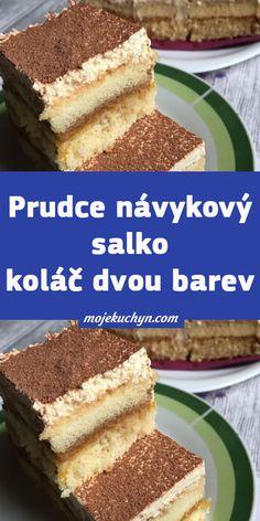 Czech Recipes, Ethnic Recipes, 20 Min, Tiramisu, Ham, Cake Recipes, Food And Drink, Sweets, Cookies