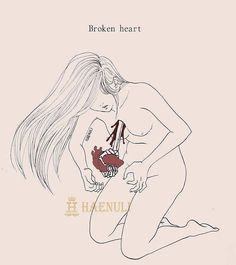 "Broken heart ""Don't kill me"" (c) Haenuli All Rights Reserved"