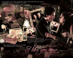 I really love the edit because it uses the best tvd scene ever :)