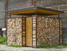 Dead wood timber stack timber stack timber stack natural garden … – stack # timber stack # … – All For Garden Firewood Shed, Firewood Storage, Garden In The Woods, Into The Woods, Outdoor Restaurant Patio, Log Wall, Natural Garden, Shed Plans, Outdoor Walls